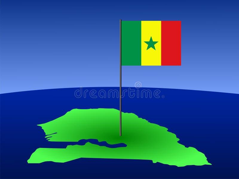 标志映射塞内加尔