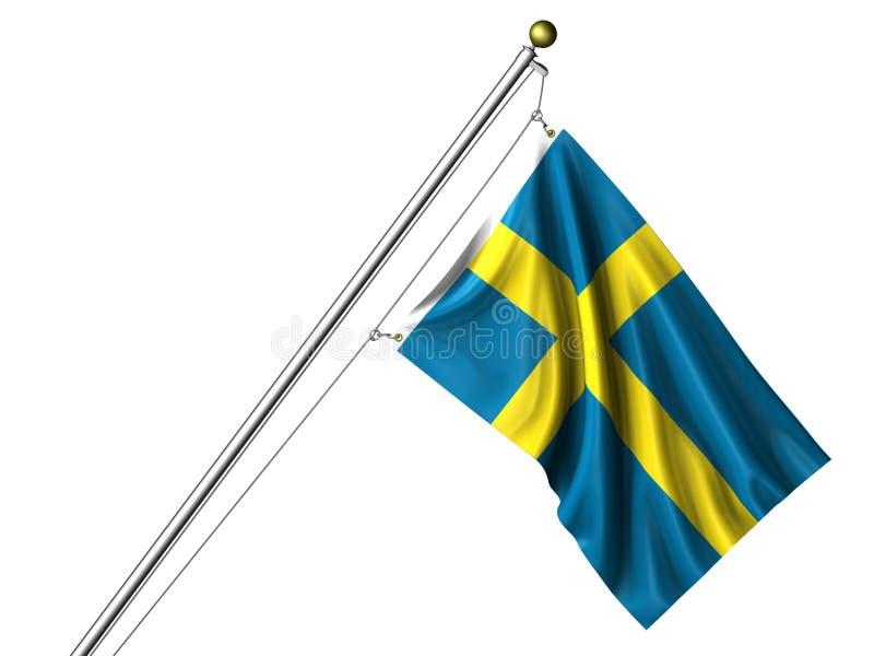 标志查出的瑞典 皇族释放例证
