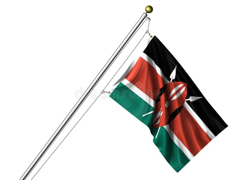 标志查出的肯尼亚人 向量例证