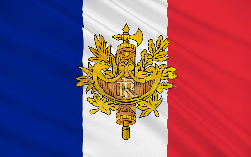 标志法国 向量例证