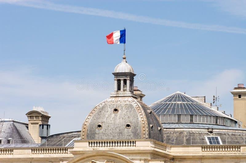 标志法语 免版税库存照片