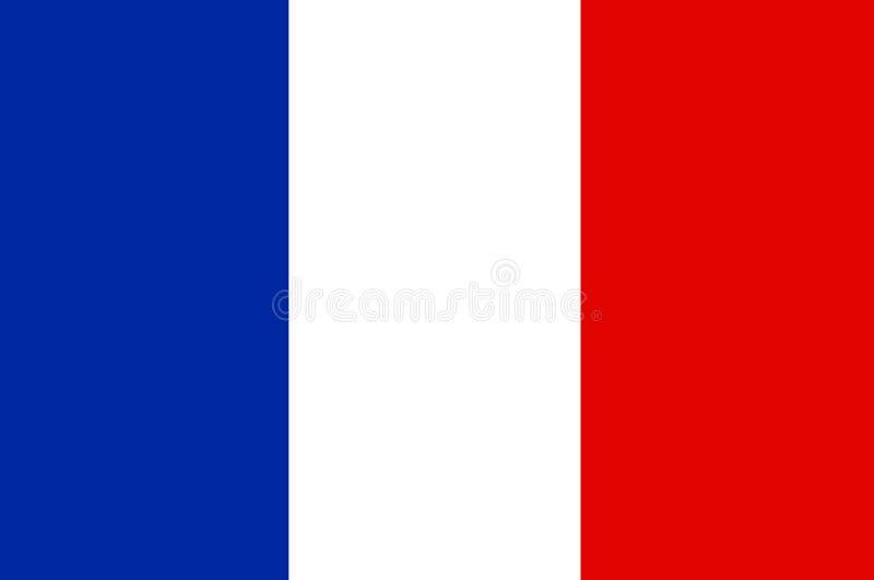 标志法语 向量例证