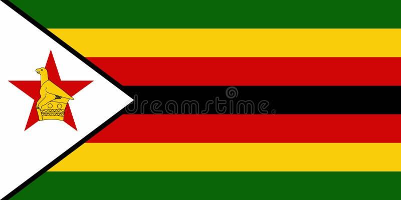 标志津巴布韦 向量例证