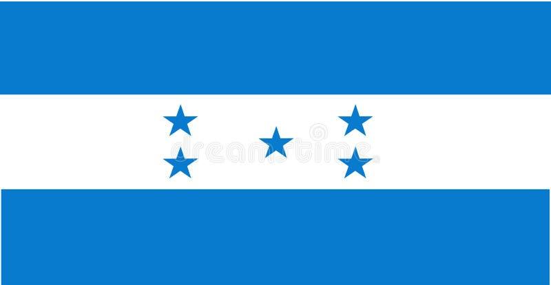 标志洪都拉斯 向量例证