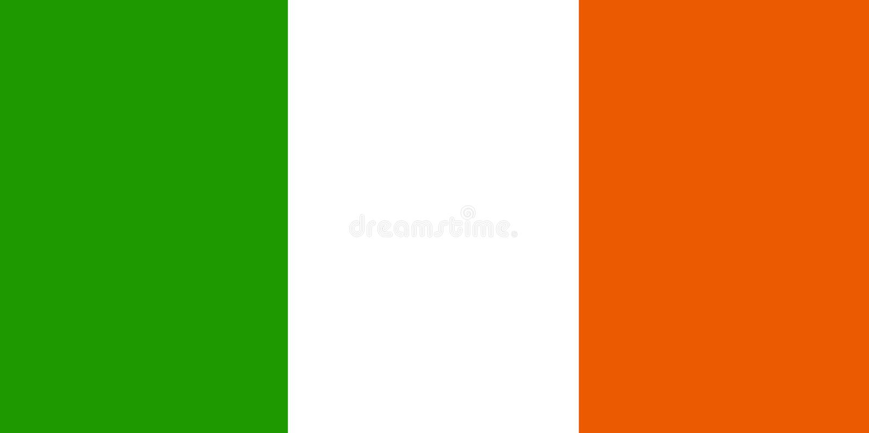 标志爱尔兰语 库存例证