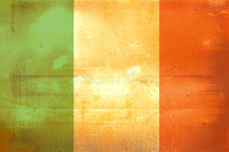 标志爱尔兰 库存例证