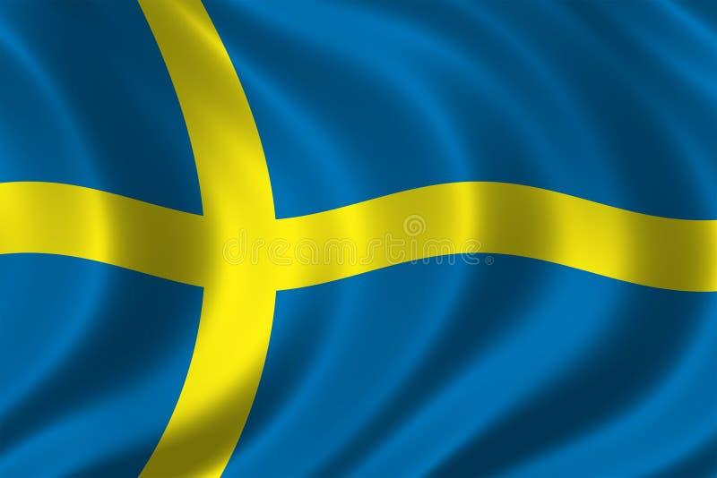 标志瑞典 皇族释放例证