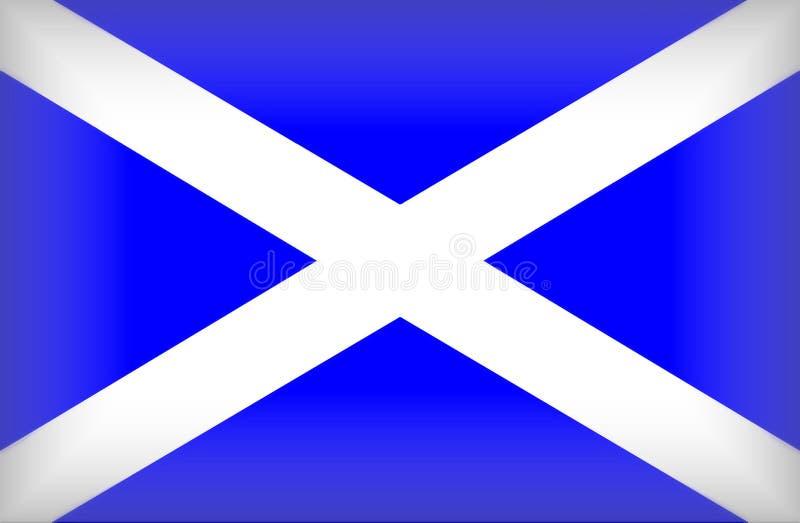 标志苏格兰人 皇族释放例证