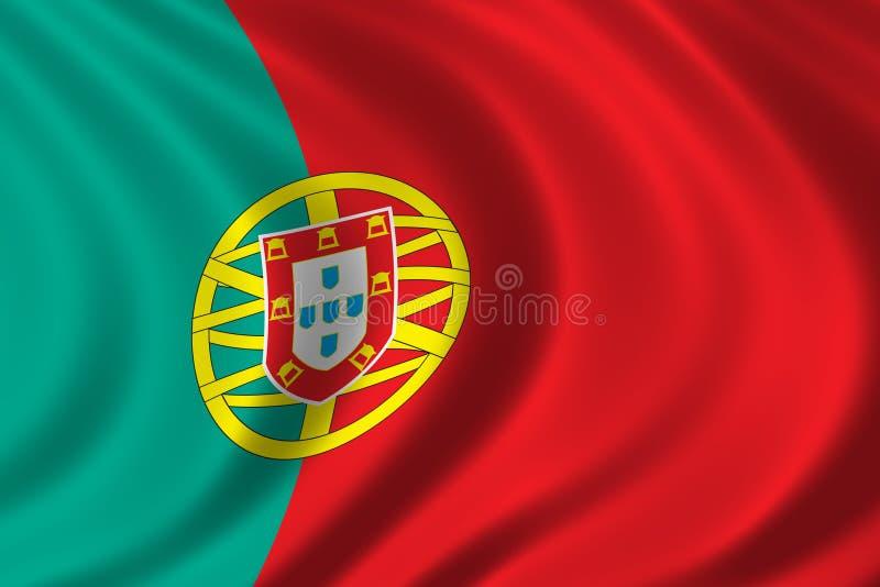 标志葡萄牙 库存例证