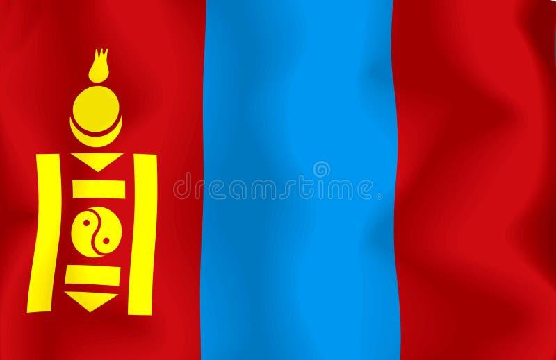 标志蒙古 库存例证