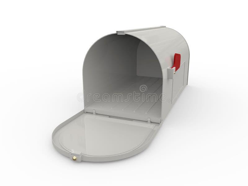标志邮箱红色 库存图片
