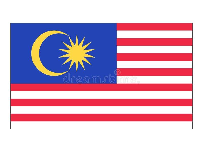 标志马来西亚 向量例证