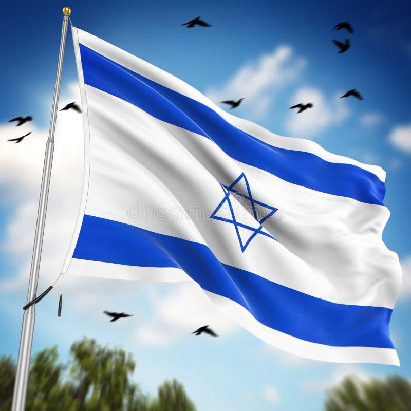 标记以色列 库存例证