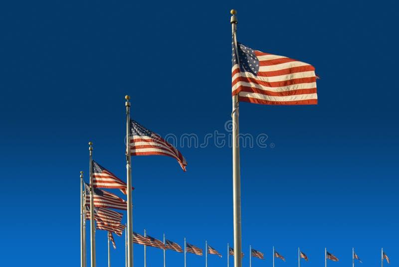标记纪念碑华盛顿 库存图片