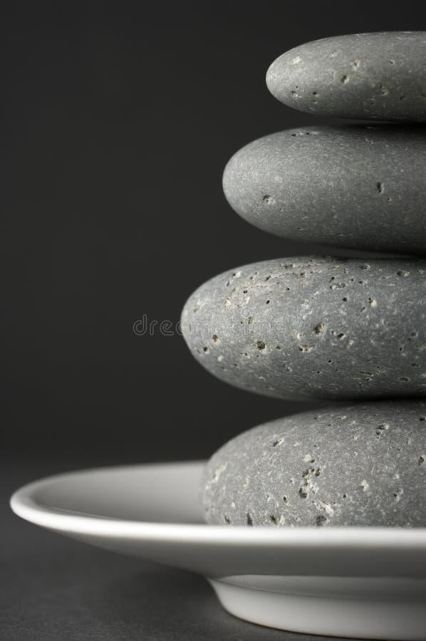 栈石头 免版税图库摄影