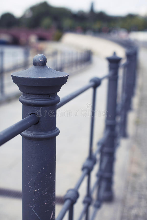 栏杆细节 库存照片
