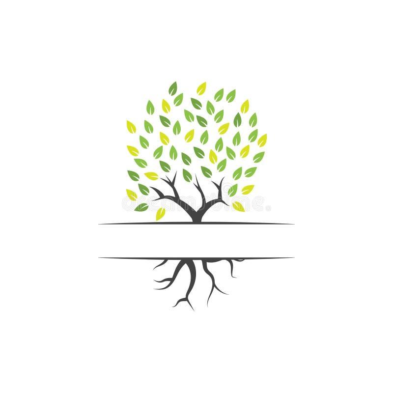 树剪贴美术图形设计模板传染媒介隔绝了 向量例证