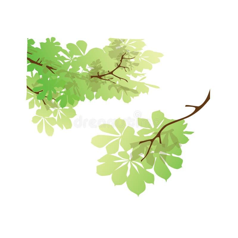 树商标概念 向量例证