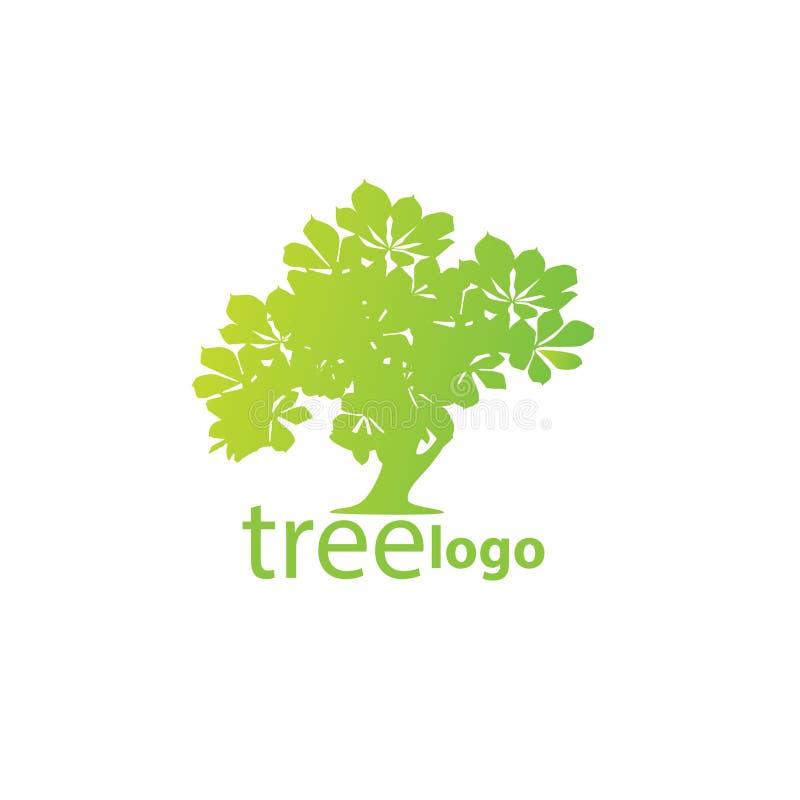树商标概念 库存例证