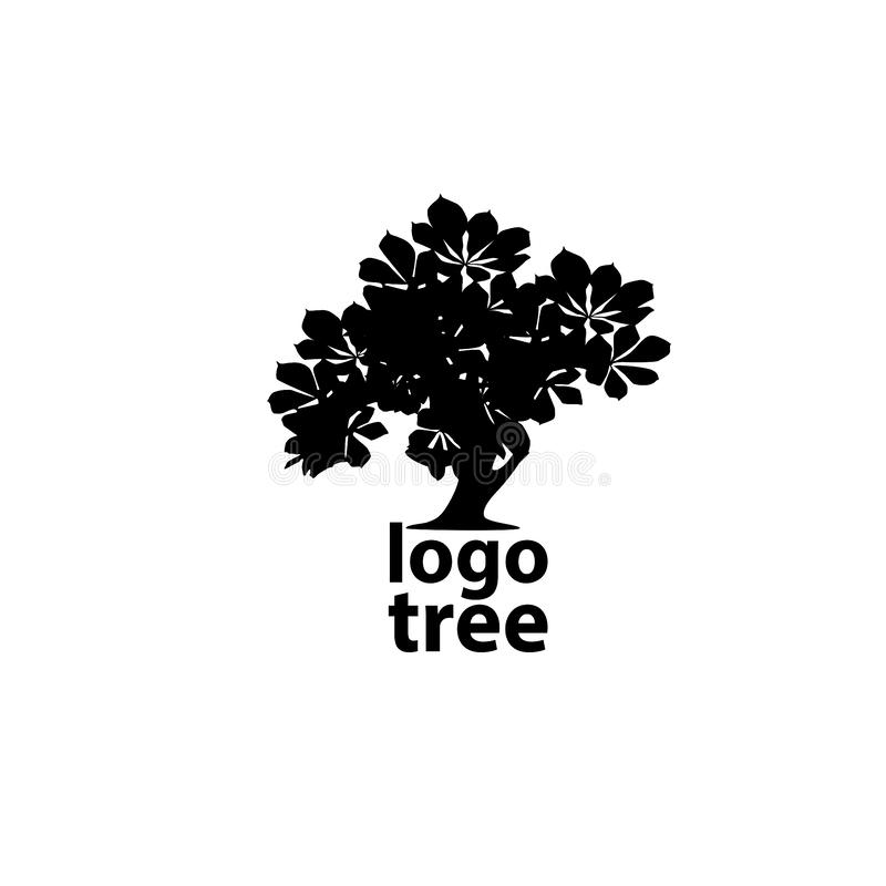 树商标概念 皇族释放例证