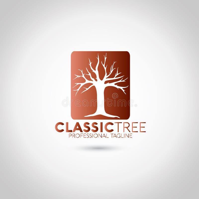 树商标 向量例证