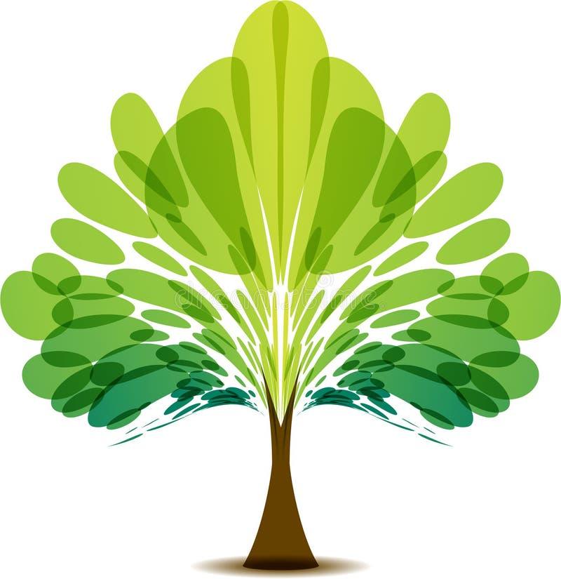 树商标 库存例证