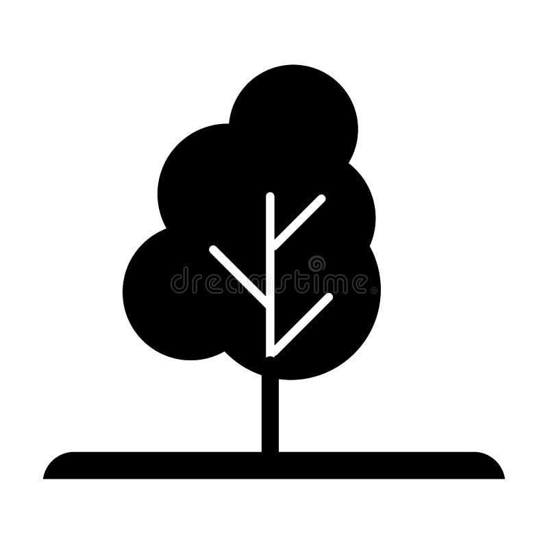 树固体象 自然在白色隔绝的传染媒介例证 木纵的沟纹样式设计,设计为网和app 10 eps 库存例证