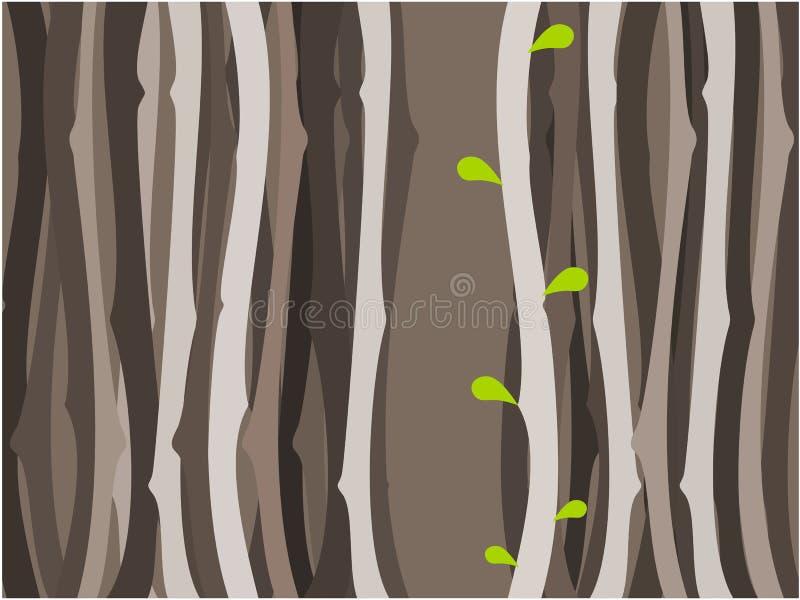 树背景例证 向量例证