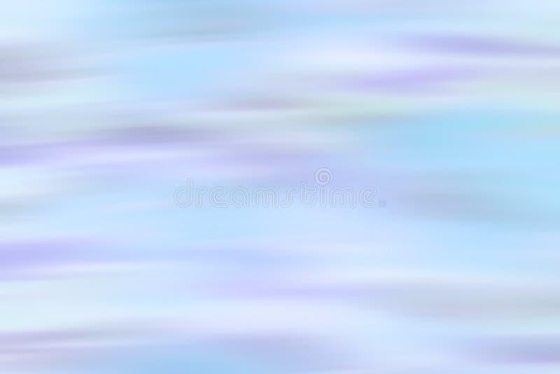 树荫深蓝和紫色在抽象行动作用被弄脏的背景中 模糊的抽象设计 免版税库存照片