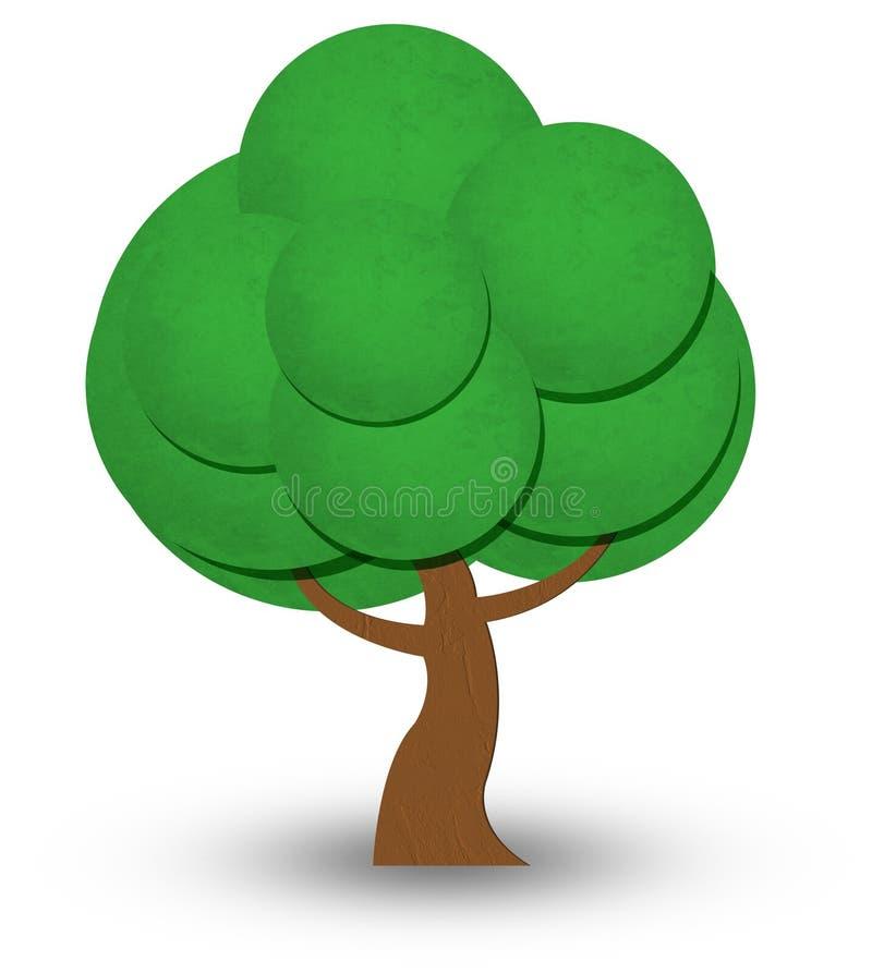 树象 向量例证
