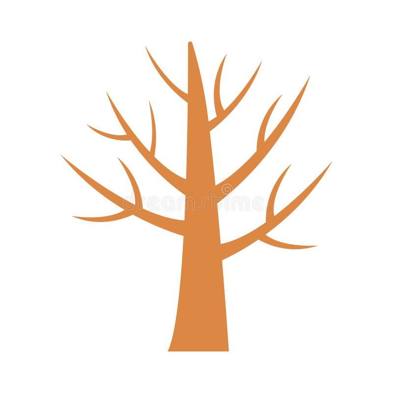 树 皇族释放例证