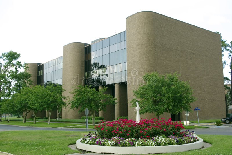 校园南部的大学 图库摄影