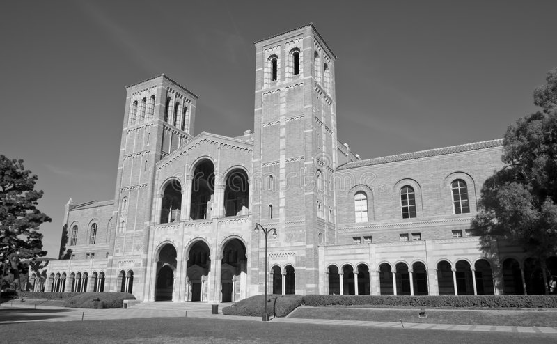 校园大学 免版税库存图片