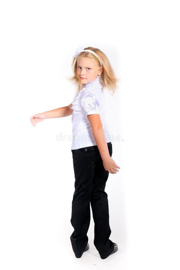 Download 校服的女孩 库存照片. 图片 包括有 礼服, 粉红色, 子项, 敬慕, 逗人喜爱, 有吸引力的, 作用, beauvoir - 22353172