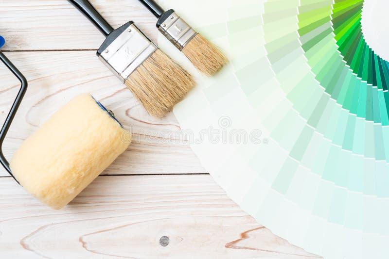 样品颜色编目pantone或颜色样片预定 免版税库存照片