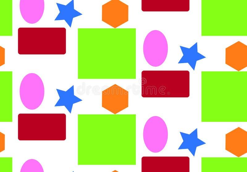 样式几何形象 库存图片