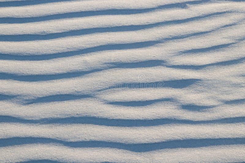 样式和波纹在沙子 免版税库存图片