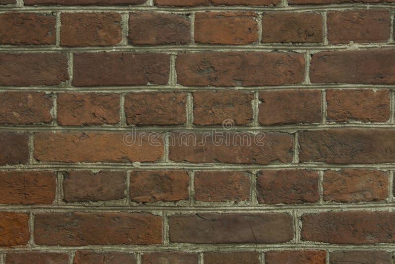 样式和背景的一个砖墙 库存图片