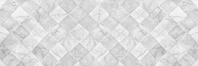 样式和ba的水平的典雅的白色陶瓷砖纹理 免版税图库摄影
