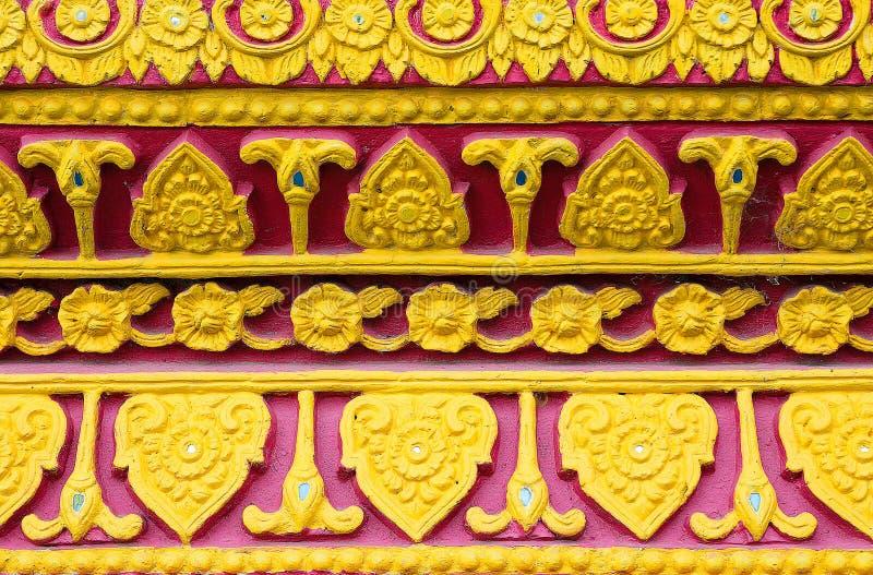 样式在泰国寺庙泰国遇到 免版税图库摄影