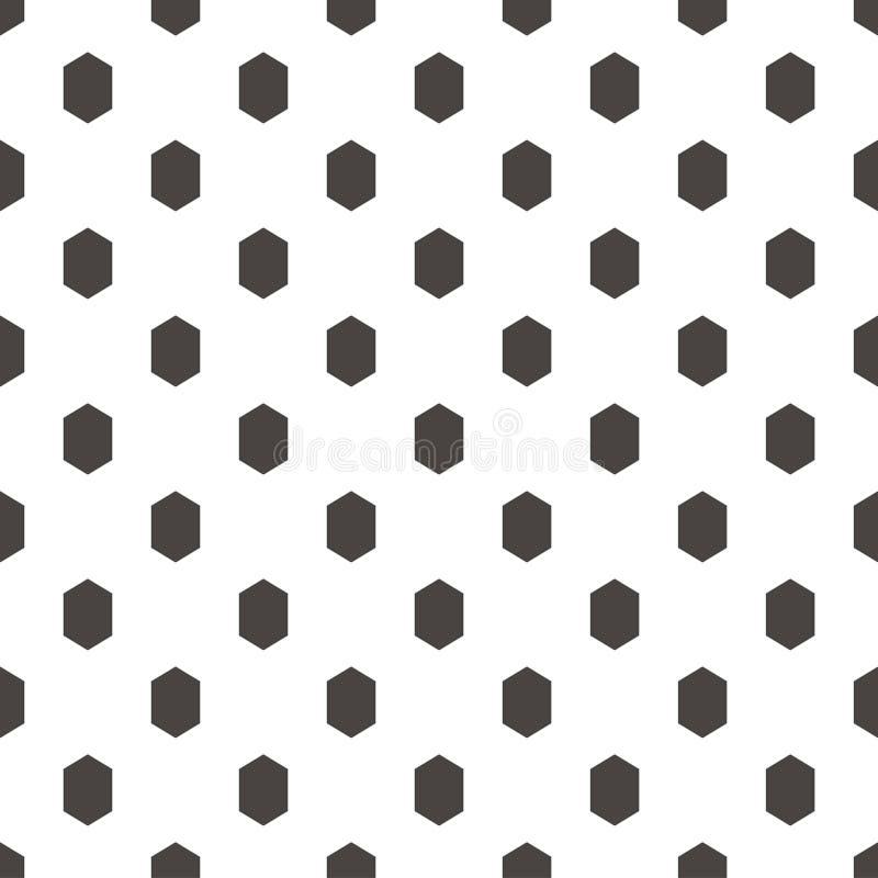 样式抽象几何蜂窝墙纸 传染媒介illustrat 向量例证
