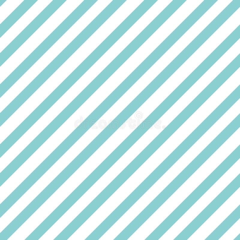 样式条纹无缝的甜蓝色两音色 对角条纹摘要背景传染媒介 皇族释放例证