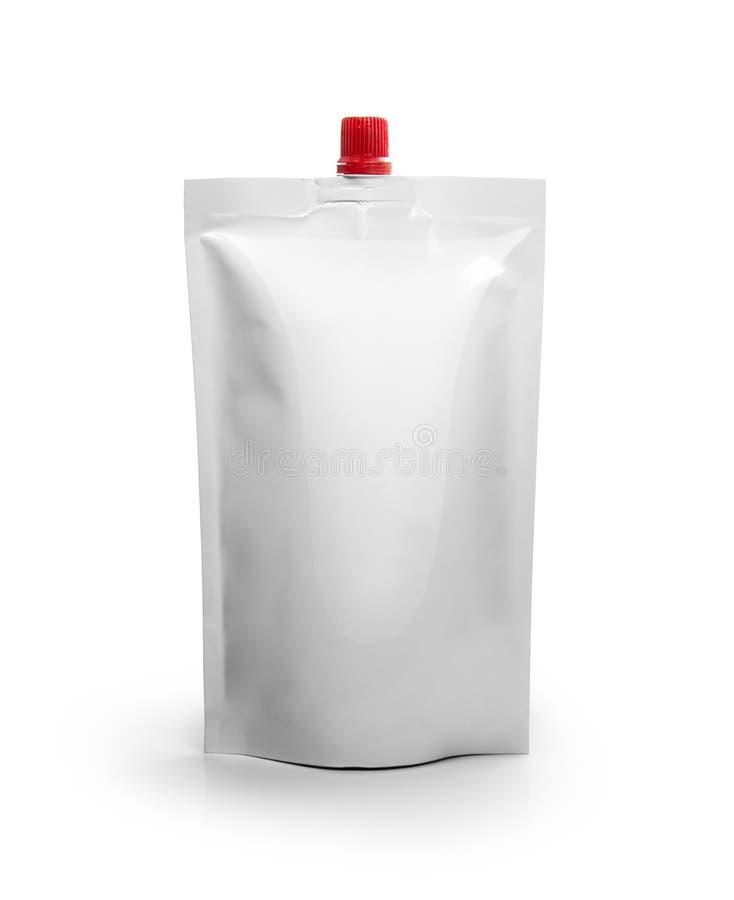 样式白色包装 免版税图库摄影