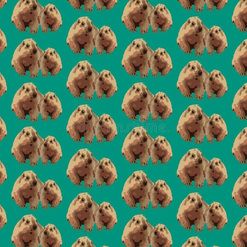 样式groundhog 免版税库存照片