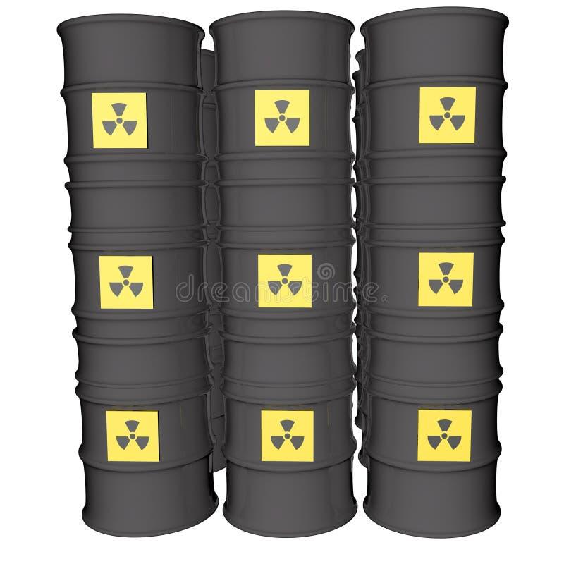 核危险 皇族释放例证