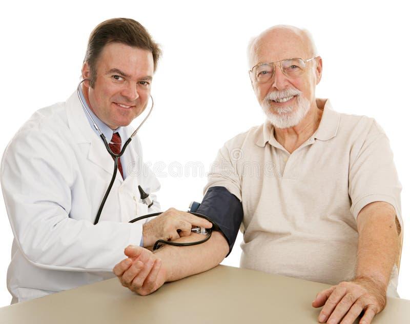 核对好医疗前辈 图库摄影