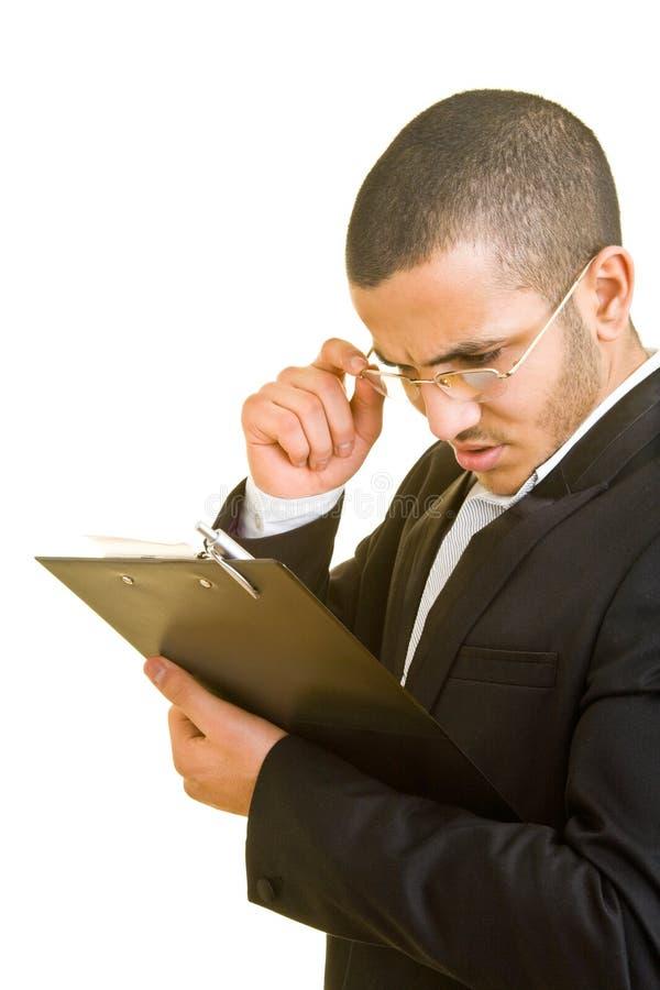 核对清单查找 免版税库存图片