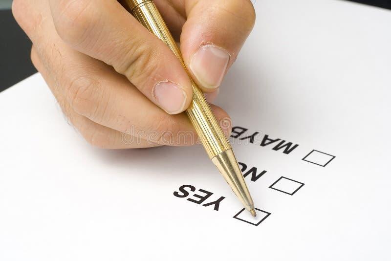 核对清单质量调查表服务 库存图片