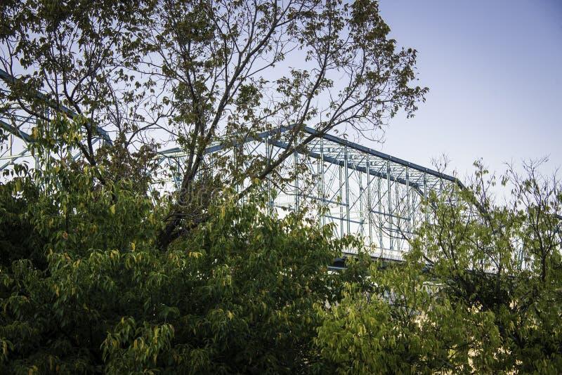 核桃桥梁在加得奴加,田纳西 库存照片