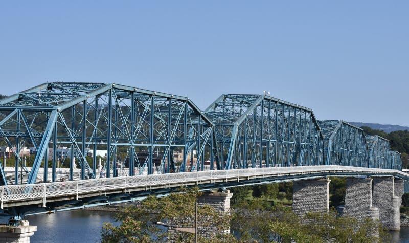 核桃街道桥梁 库存图片